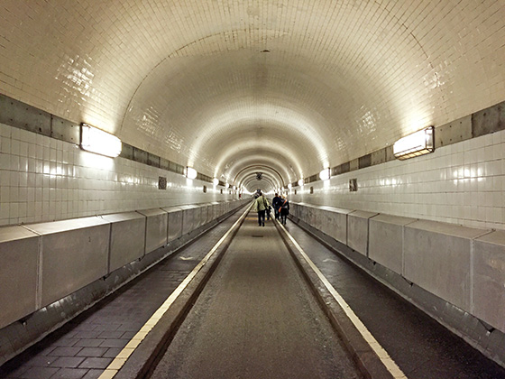 Elbtunnel in Hamburg