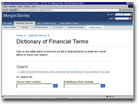 Dictionary Financial Terms