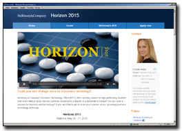 McKinsey IT-Karriere Horizon-2015