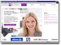 careers4women Karriereportal Frauen
