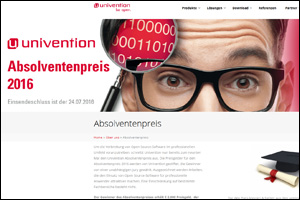 Univention-Absolventenpreis 2016 Open-Source