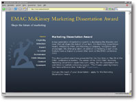 McKinsey Marketing-Dissertation-Award 2010