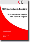 CHE-Studienkredit-Test 2010