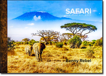 Luxus-Fotobuch Safari Benny Rebel
