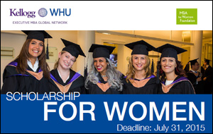 WHU-Frauen-Stipendium Executive-MBA-Program 2015
