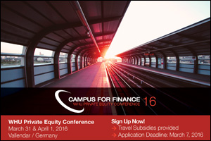 Campus-for-Finance WHU-Private-Equity-Conference 2016