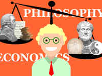 Header Bilder der Wiwi-Studiengänge / Philosophy and Economics