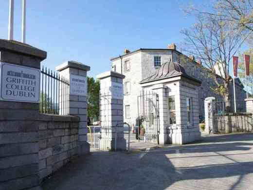 Griffith College Dublin in Irland