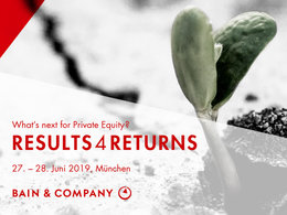 Bain Private Equity Workshop »Results4Results 2019«