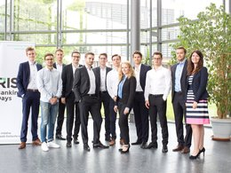 Gruppenbild: Banking Days am Karlsruher Institut für Technologie (KIT)