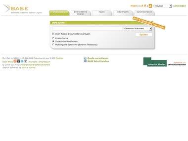 Bielefeld Academic Search Engine (BASE): An end‐user ...