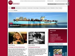 Screenshot Homepage bpb.de