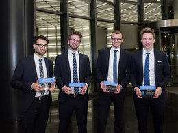 CFA-Institute-Research-Challenge 2019: Foto Siegerteam der RWTH Aachen