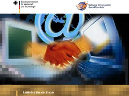Customer-Relationship-Management: Cover des CMR-Leitfaden vom Bmwi