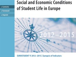 Studie Social and Economic Conditions of Student Life in Europe
