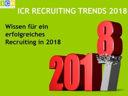 Studien-Cover »Recruiting Trends 2018«