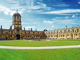 Campus der Universität von Oxford in England.
