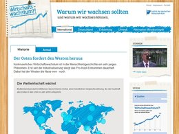 Screenshot Homepage w-wie-wachstum.de