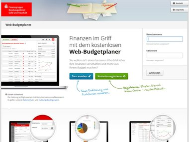 Web Budgetplaner Das Online Haushaltsbuch